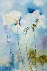 Stems Skywards IV by Emilija Pasagic -  sized 24x36 inches. Available from Whitewall Galleries